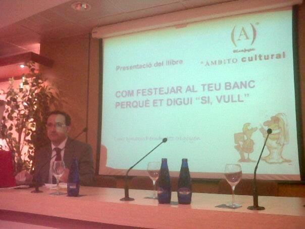 """""""Cómo cortejar a tu Banco…"""" en El Corte Inglés de Barcelona"""