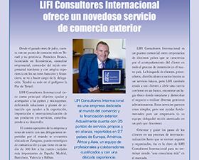 Aparición en la revista empresarial del Polígono la Paz de Teruel