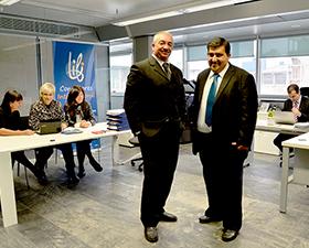 Los directores médicos del call center ORBI Assistance de Argentina y Uruguay visitan España